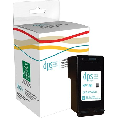 DPS by Staples Remanufactured Inkjet Cartridge HP 96 (DPSI67WNR) Black -