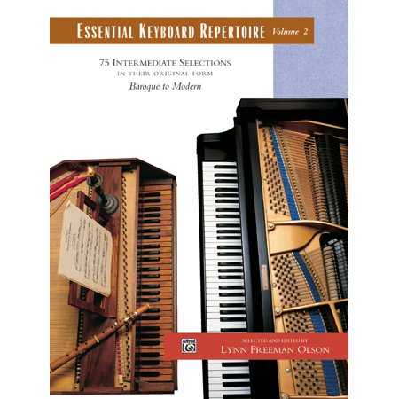 Essential Keyboard Repertoire, Vol 2: 75 Intermediate Selections in Their Original Form - Baroque to Modern, Comb Bound Book (Paperback) Baroque Music Book