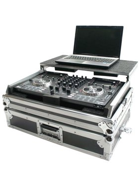 Harmony DJ HCNVLT Flight Glide Laptop Stand Road DJ Case fits Numark NV