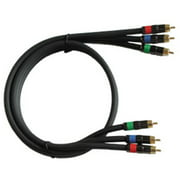 Audio2000s ADC2201P 3.3 ft. Pcocc Component Video Cables