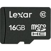 Lexar 16 Gb Microsd High Capacity [microsdhc] - Class 10 - 1 Card (lsdmi16gasbnac10)