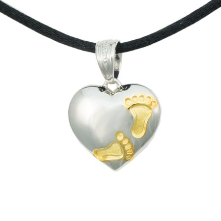 Silver Memorial Keepsake Necklace For Loss Of Loved One Extra Small 1 Pounds