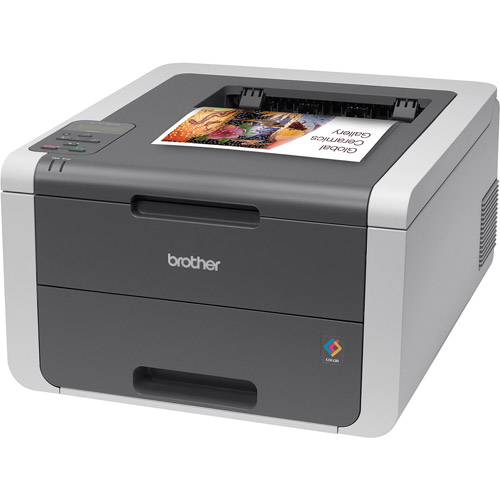 Brother HL-3140CW Digital Color Printer with Wireless Networking