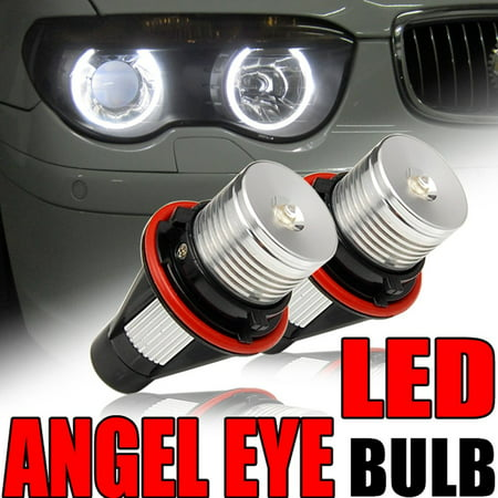 GTP 6000K HIGH POWER LED ANGEL EYE LIGHT BULB FOR BMW 1/5/6/7 SERIES X3 X5 E39 E53 E60 E63 E64 E66 M5 M6