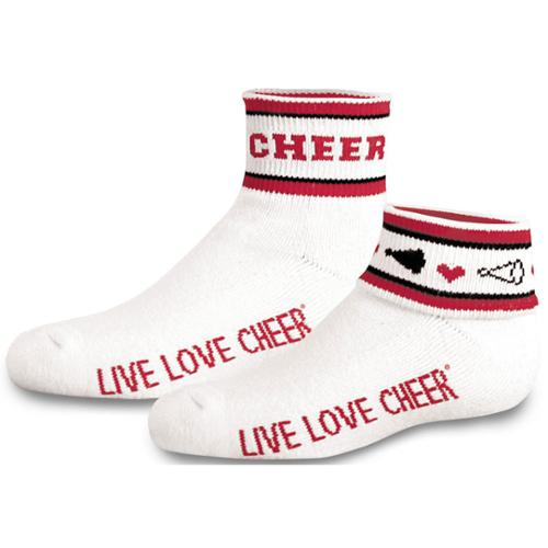 Flip Crew Sock Red Adult Size - ADULT