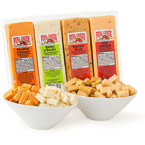 Deli Direct Cheese Blocks Variety Pack, 7 oz, 8 count by Deli Direct