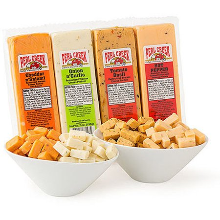 Block Of Cheese (Deli Direct Cheese Blocks Variety Pack, 7 oz, 8)