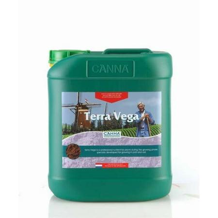 5 Liter - Terra Vega - Soil Veg Nutrient - CANNA