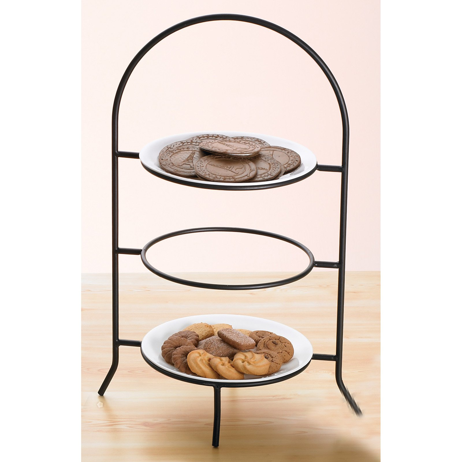 Creative Home Iron Works 3 Tier Dinner Plate Rack  sc 1 st  Walmart & Creative Home Iron Works 3 Tier Dinner Plate Rack - Walmart.com