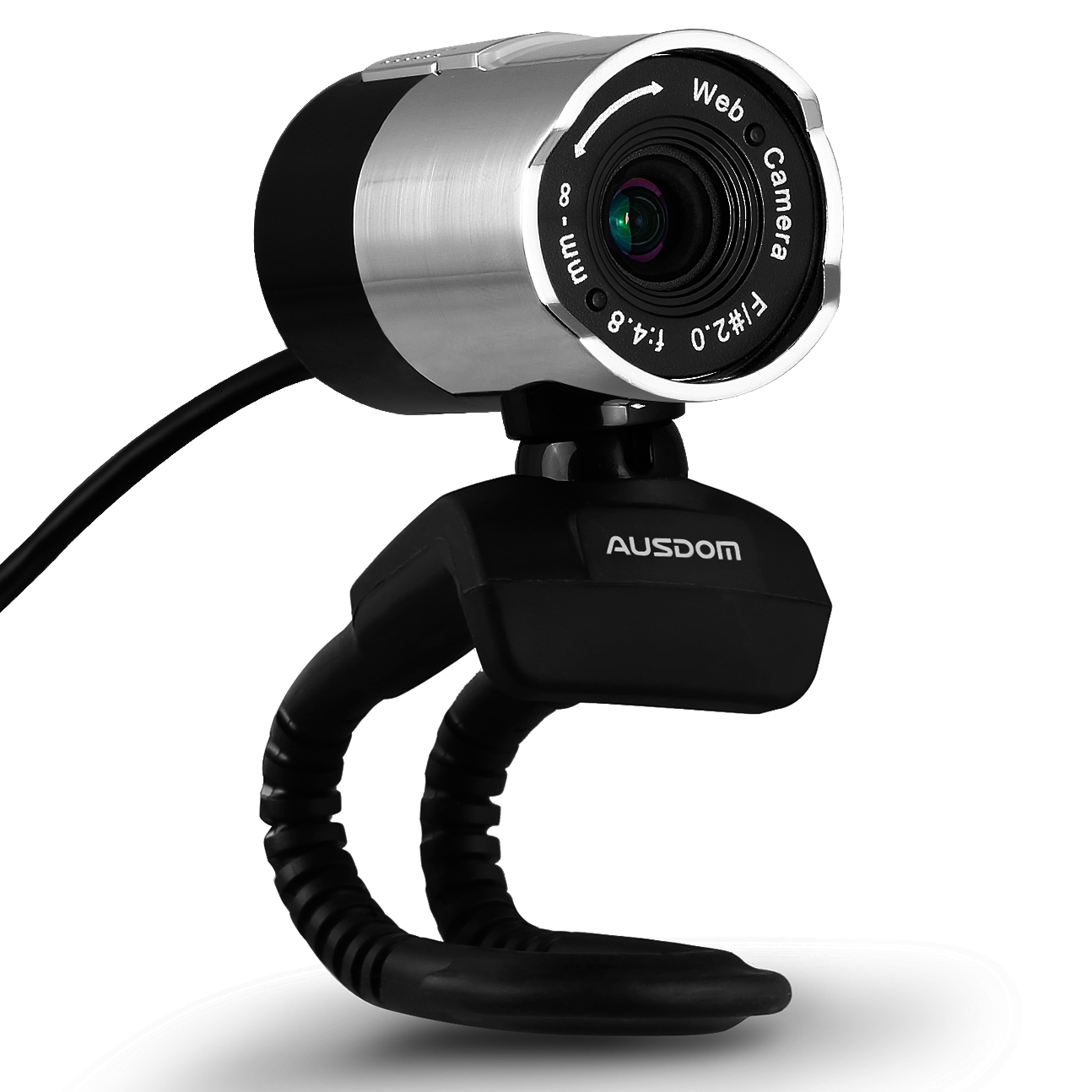 AUSDOM Webcam AW335, Widescreen Video Calling and Recording, 1080p Camera, Desktop or Laptop Webcam by AUSDOM