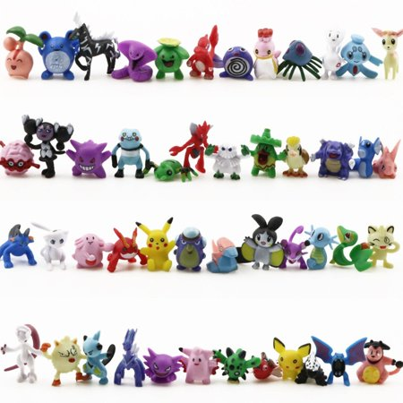 144PCS a Set Pokemon Toy Mini Action Figures Children's Doll Go Monster Toys Gift - image 6 of 6