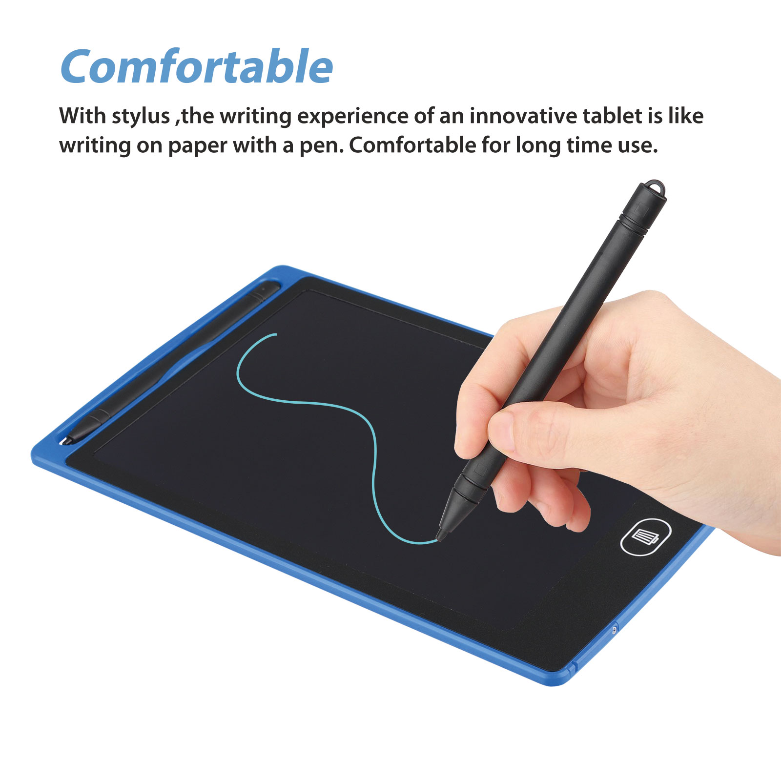eubell Mini LCD Writing Tablet Drawing Tablet Kids Tablets Doodle Board Drawing Board Gifts for Kids and Adults at Home School and Office