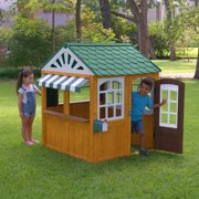 Kidkraft Garden View Ez Kraft Embly Outdoor Playhouse Image 3 Of 12