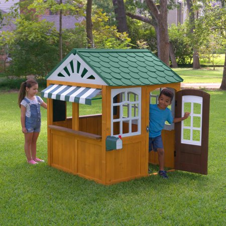 Ez Play Piano - KidKraft Garden View EZ Kraft Assembly Outdoor Playhouse