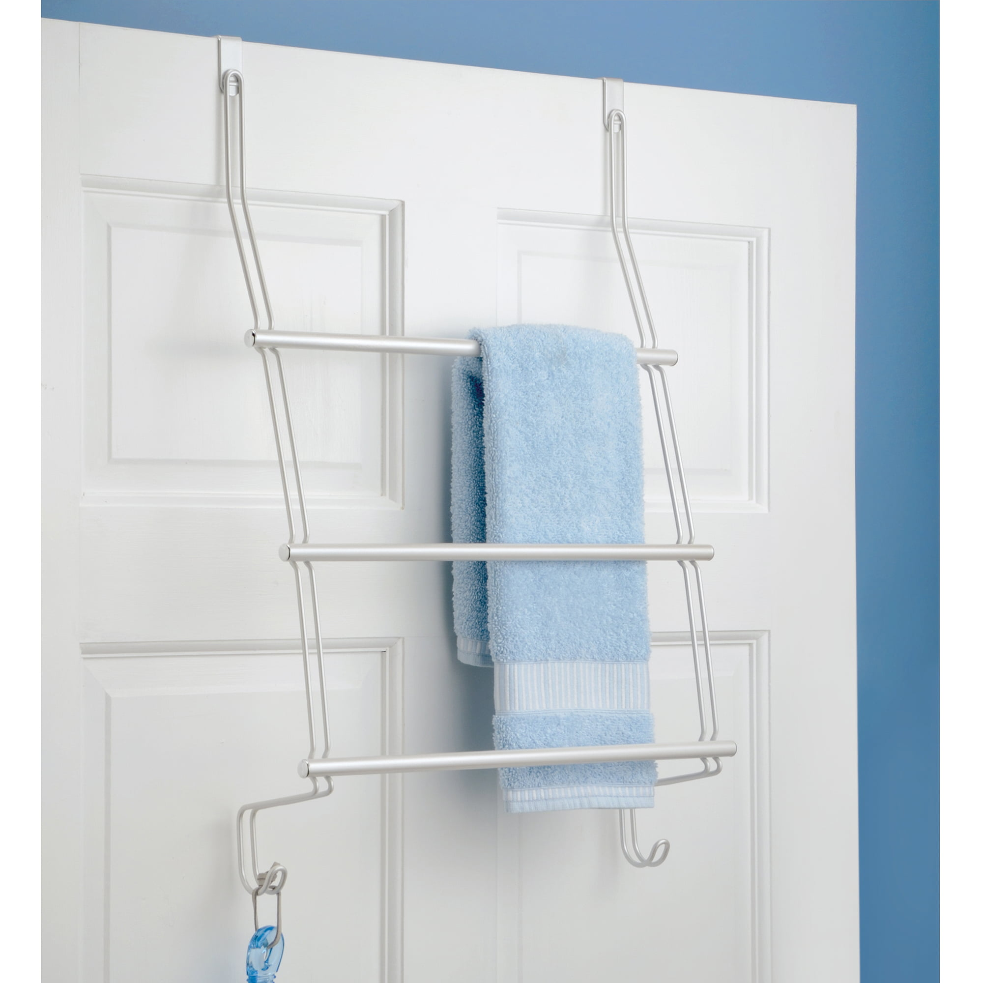 & InterDesign Classico Over-the-Door Towel Rack - Walmart.com pezcame.com
