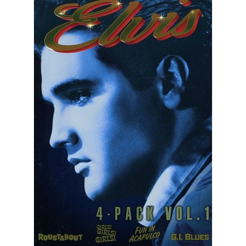 Elvis Four-Movie Collection, Vol. 1 Fun In Acapulco   G.I. Blues   Girls! Girls! Girls!   Roustabout... by NATIONAL AMUSEMENT INC.