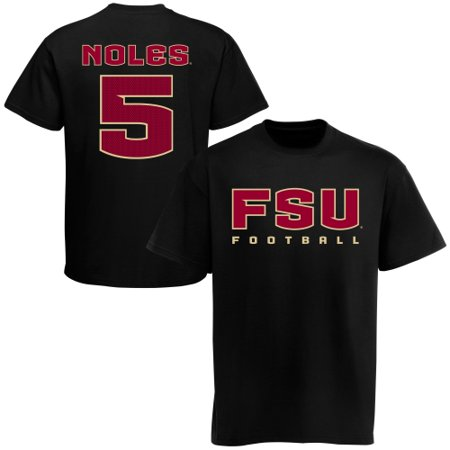 - Florida State Seminoles (FSU) #5 Football T-Shirt - Black