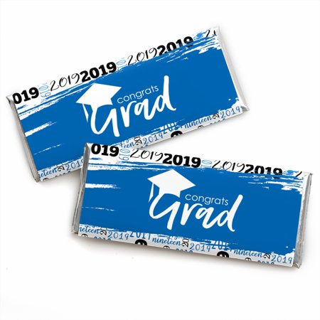 Blue Grad - Best is Yet to Come - Royal Blue 2019 Graduation Candy Bar Wrappers Party Favors - Set of - Best Halloween Bar Party Ideas