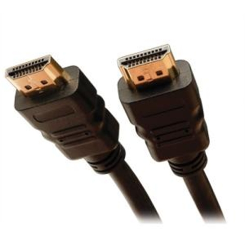 Tripp Lite High Speed HDMI Cable with Ethernet - HDMI - 19 pin HDMI (M) - 19 pin HDMI (M) - 25 ft - Black P569-025