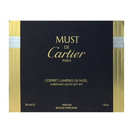 Cartier Must De Cartier Christmas Lights Gift Set 2Pc Gift Set Cartier Must De Cartier Christmas Lights Gift Set
