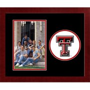 Campus Image TX960SLPFV Texas Tech University Spirit Photo Frame - Vertical