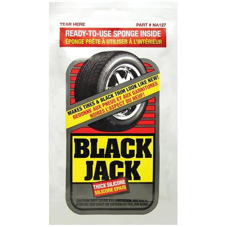 Blue Magic Black Jack Thick Silicone Tire Shine, Repels Dirt & Grime - Single - Magic Darts