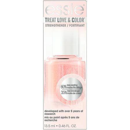 essie treat love & color nail polish & strengthener, loving hue (shimmer finish) 0.46 FO