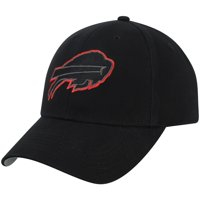Youth Black Buffalo Bills Basic Black Adjustable Hat - OSFA