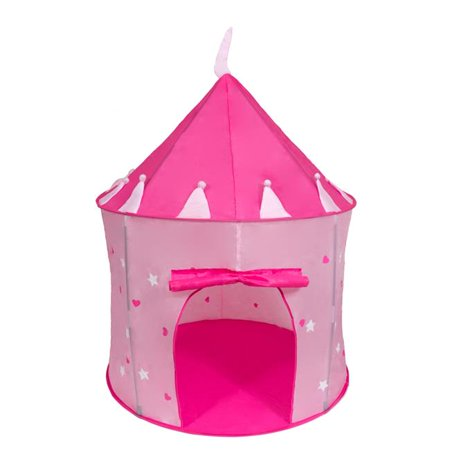 cinderella usa cusa033 girls pink princess play castle pop. Black Bedroom Furniture Sets. Home Design Ideas