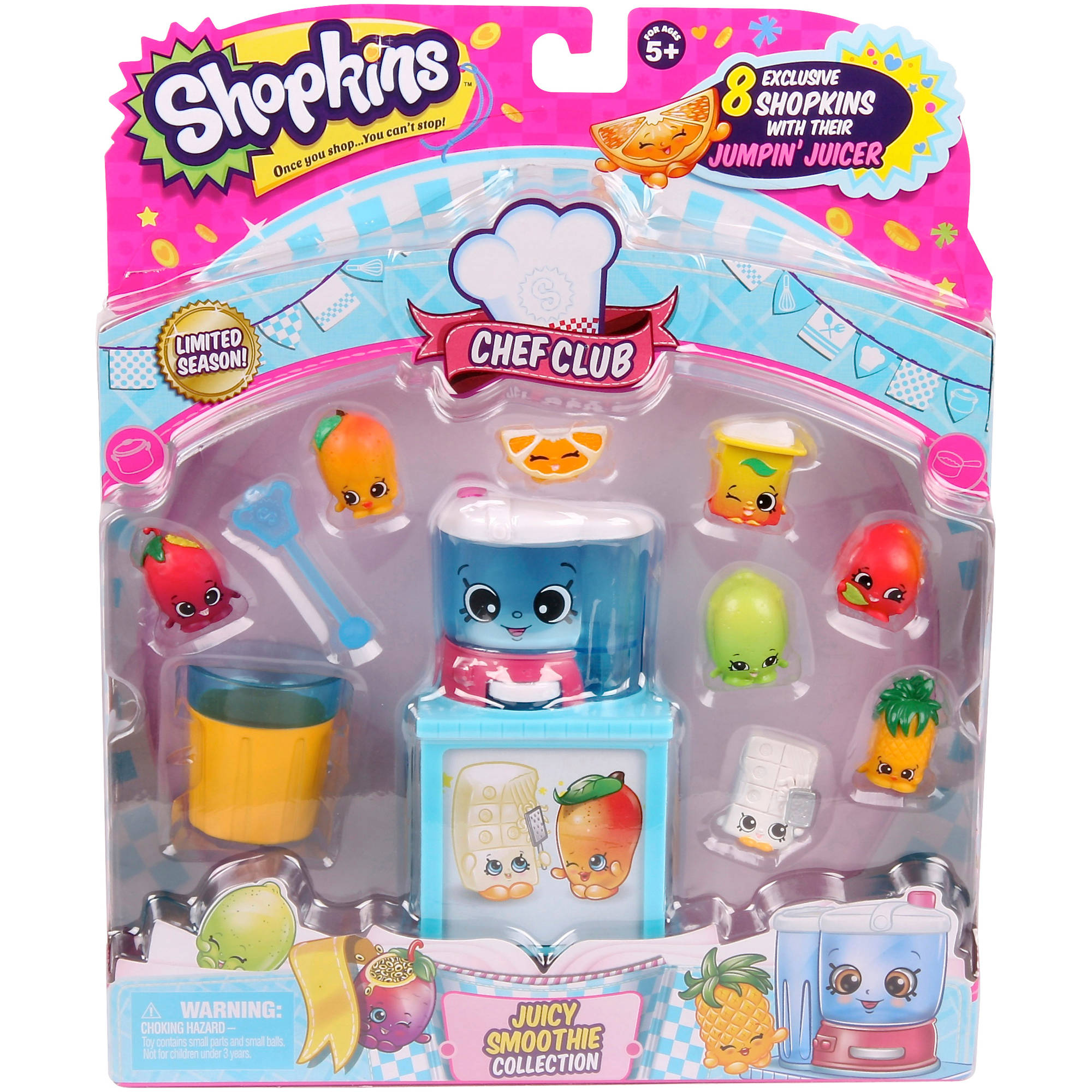 shopkins chef club juicy smoothie collection walmart com