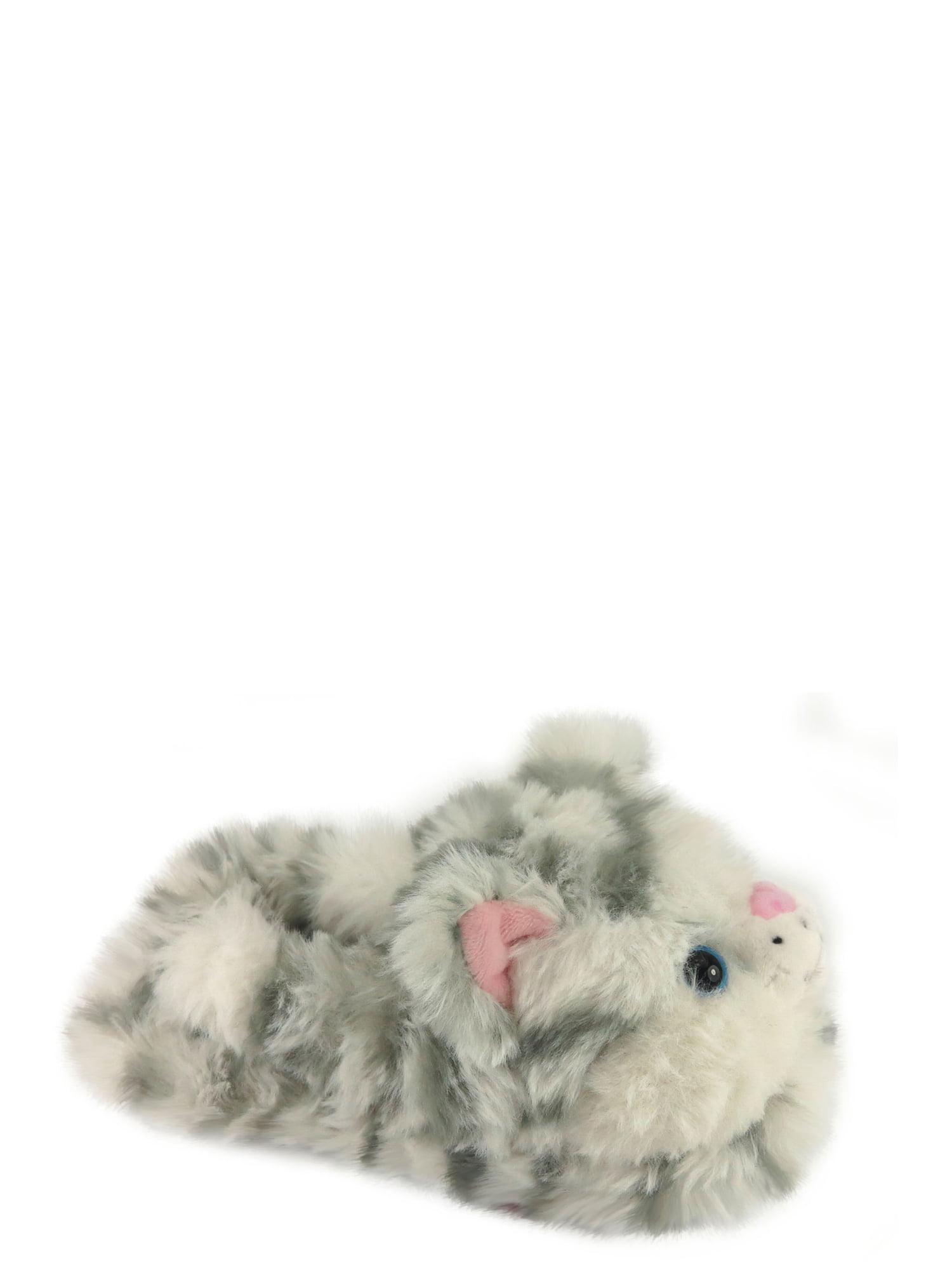 b0e57ad0dd6d Wonder Nation Toddler Girls  Kitty Slipper – Walmart Inventory ...