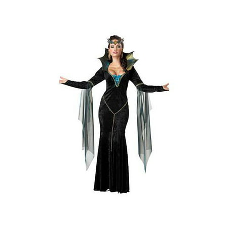 California Costume Collections Evil Sorceress Costume 01231CAL Black/Turquoise