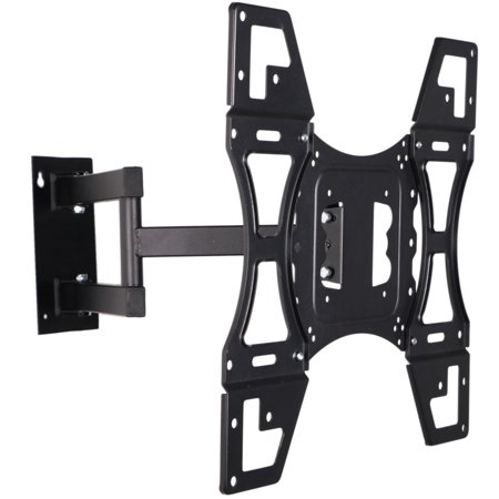 Universal Full Motion TV Wall Mount for 22″-50″ TVs with Tilt and Swivel Articulating Arm