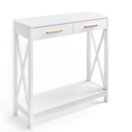 Prosumer's Choice Modern Entryway Console, Sofa Table w/ Single Drawer Storage ()