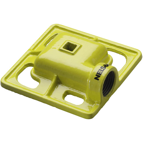 Nelson Sprinkler 50951 Square Spray Iron Stationary Sprinkler