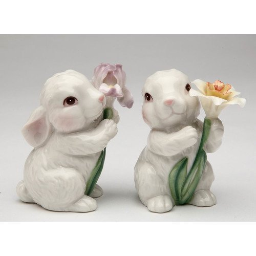 Cosmos Gifts Easter Bunny 2 Piece Salt Pepper Set Walmart Com Walmart Com