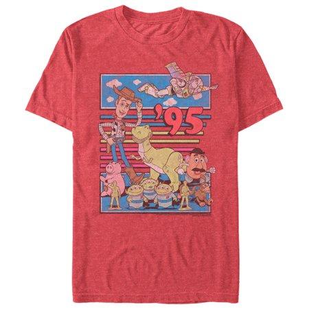 Toy Story Men's Retro Best Friend Toys T-Shirt