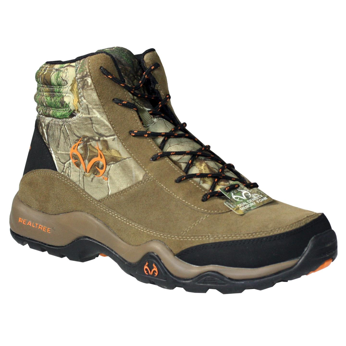 Realtree Outfitters Men's Bison Brown Camouflage Hiking Boots 11 M by RealTree Outfitters