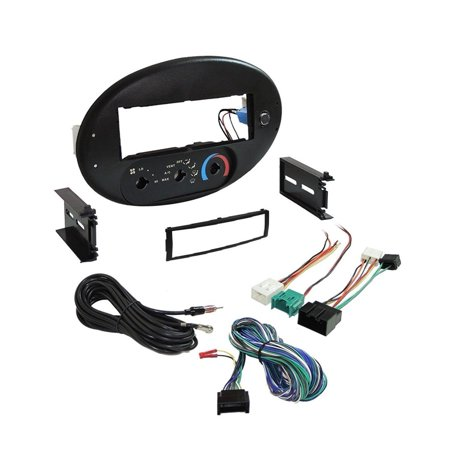 Ford Escort Radio Install Kit (Car Radio Stereo CD Player Dash Install Mounting Trim Bezel Panel 1996-1999 Ford Taurus/Sable Dash Kit )
