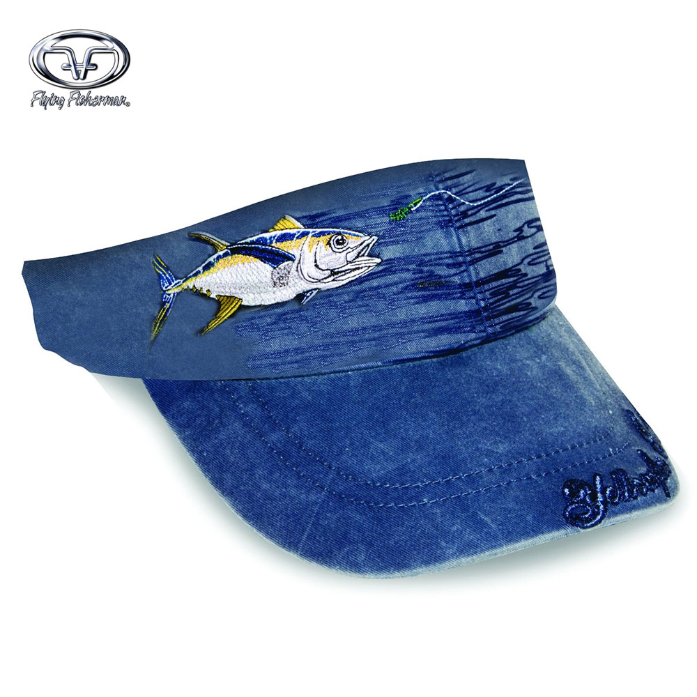 Flying Fisherman Yellowfin w/ Lure Visor- Navy