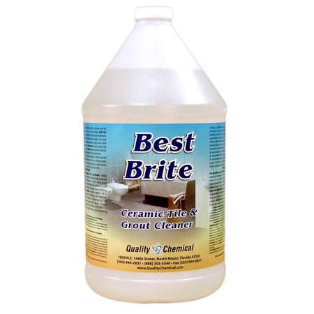 Best Brite - Heavy-duty tile and grout cleaner with acid - 1 gallon (128