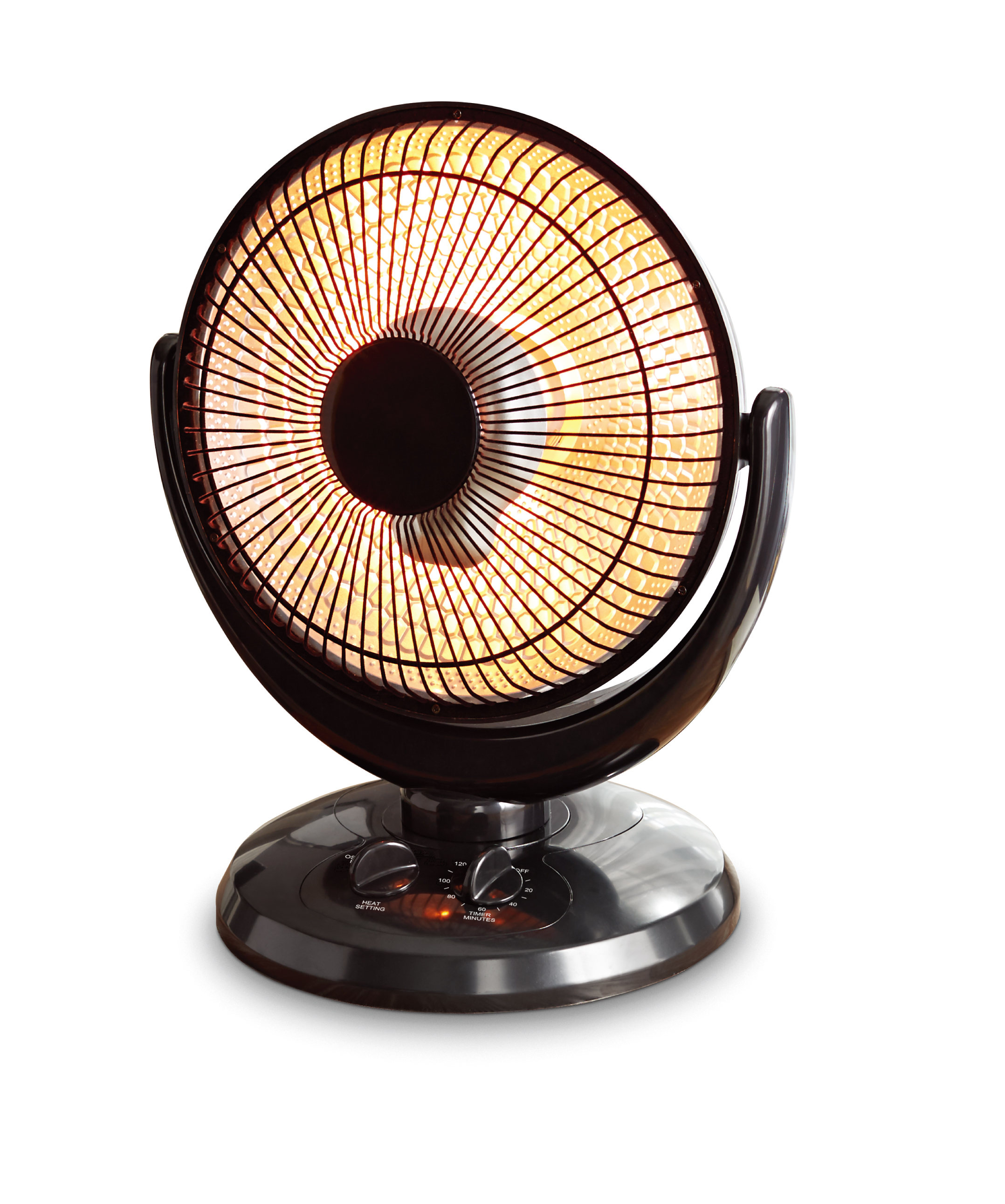 Mainstays Infrared Oscillating Dish Heater