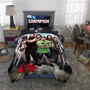 WWE Wrestling Armageddon Boys Twin Comforter & Sheets (5 Piece Bedding)
