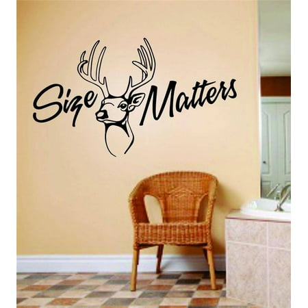 Custom Decals Matters Letters With Animal Kids Room Bow Hunting Deer M