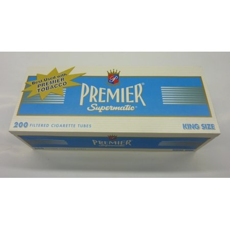 Premier Supermatic Light King Size Tubes- 200ct, PREMIER SUPERMATIC LIGHT KING SIZE TUBES- 200CT By Queen City Candy ()