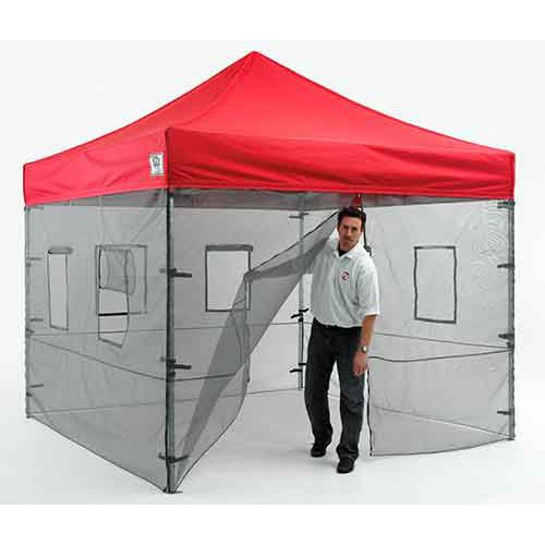 Pop Up Canopy Tent Sidewalls Food Service Vendor Sidewalls  sc 1 st  Walmart & Impact Canopy 10x10 ft. Pop Up Canopy Tent Sidewalls Food Service ...