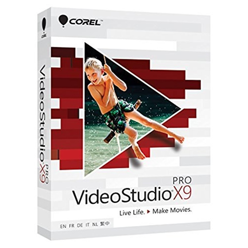 Corel VideoStudio X9 Pro - Box Pack - 1 User - Video Editing - Mini Box - DVD-ROM - PC - Multilingual