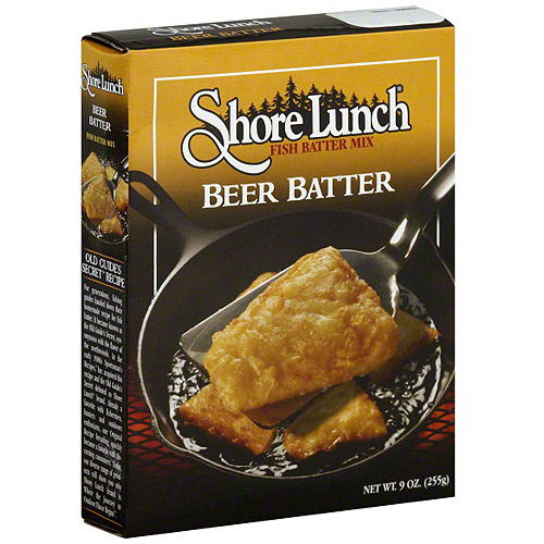 Shore Lunch Beer & Fish Batter Mix, 9 oz (Pack of 12)