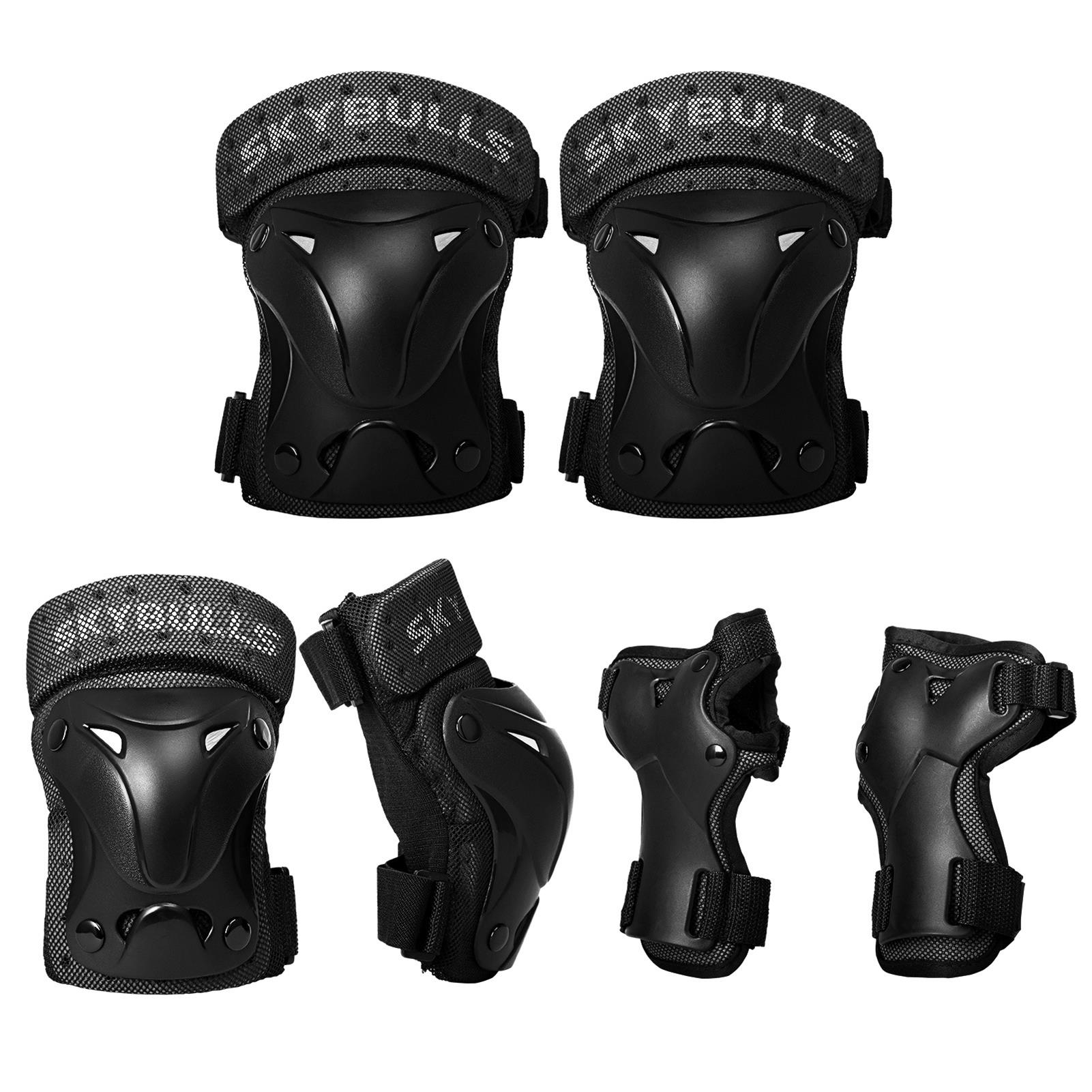 Details about  /Riding Wrist Guards Knee Elbow Pads Safety Protection Sports Protective Gear