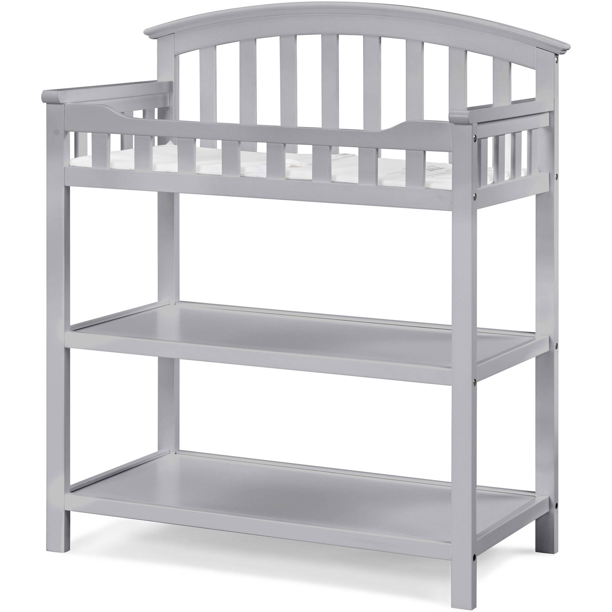 Good Costway White Sleigh Style Baby Changing Table Infant Newborn Nursery Diaper  Station   Walmart.com
